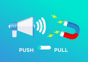Push and Pull estrategia marketing online